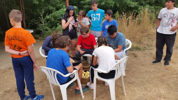 Actividades Campamento Riaza con inglés