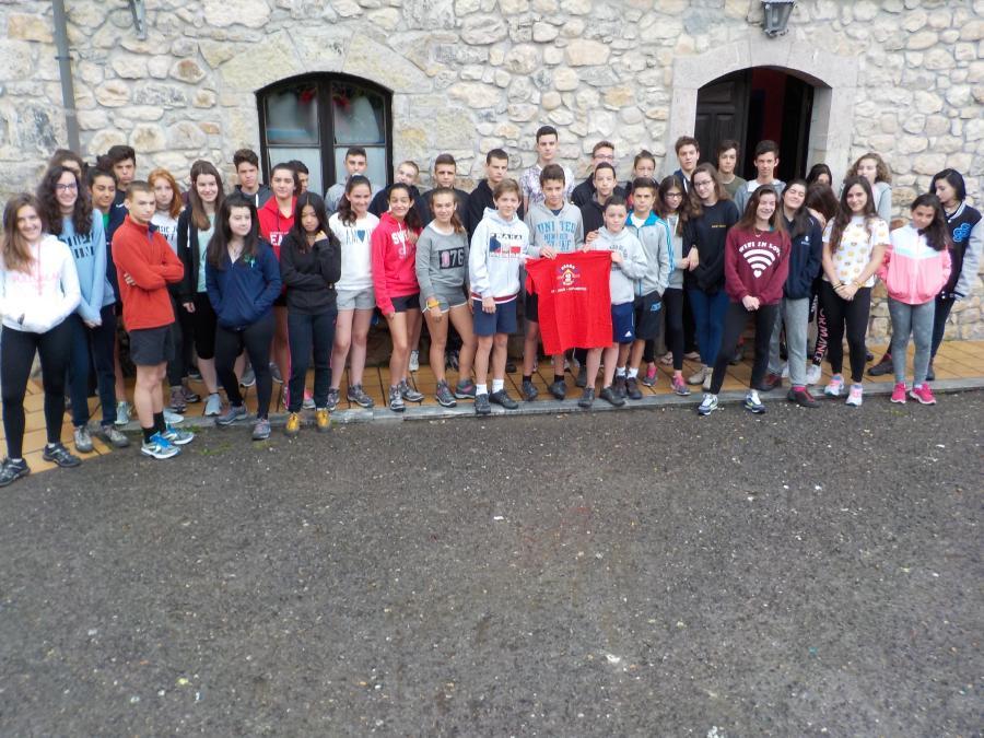 Llegada al campamento Multiaventura Asturias