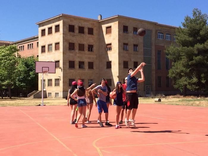 Deportes del curso intensivo de inglés de Salamanca