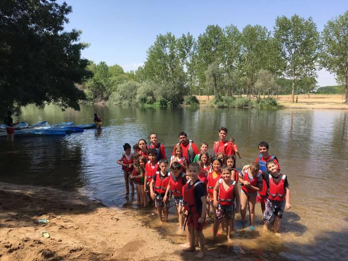 Día de excursión en el campamento con idiomas de Salamanca