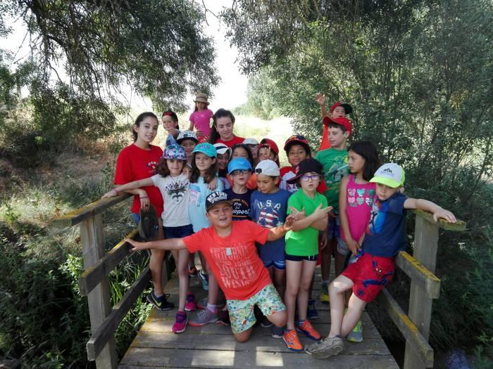 Campamento con idiomas de excursión
