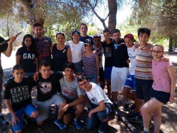 Actividades del campamento de Salamanca con francés o inglés