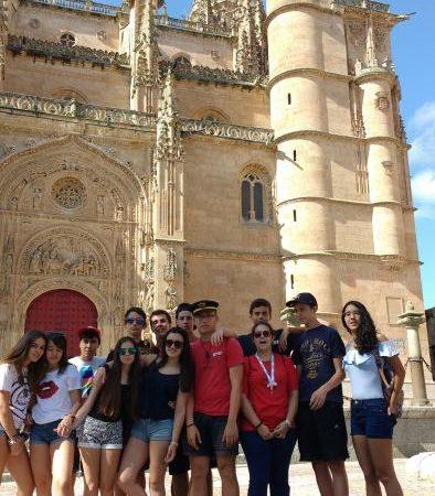 Visita guiada a Salamanca del curso intensivo de inglés