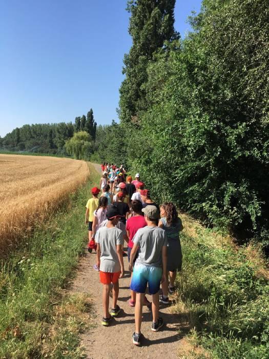 Excursión del grupo intensivo de inglés de Salamanca