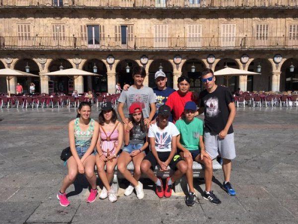 Visita a Salamanca del curso intensivo de inglés