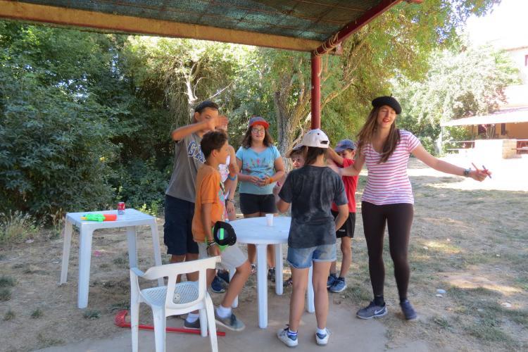 Día temático en El campamento de Agosto en Riaza