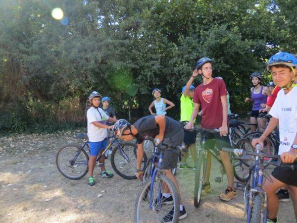 Campamento Riaza Agosto bicis