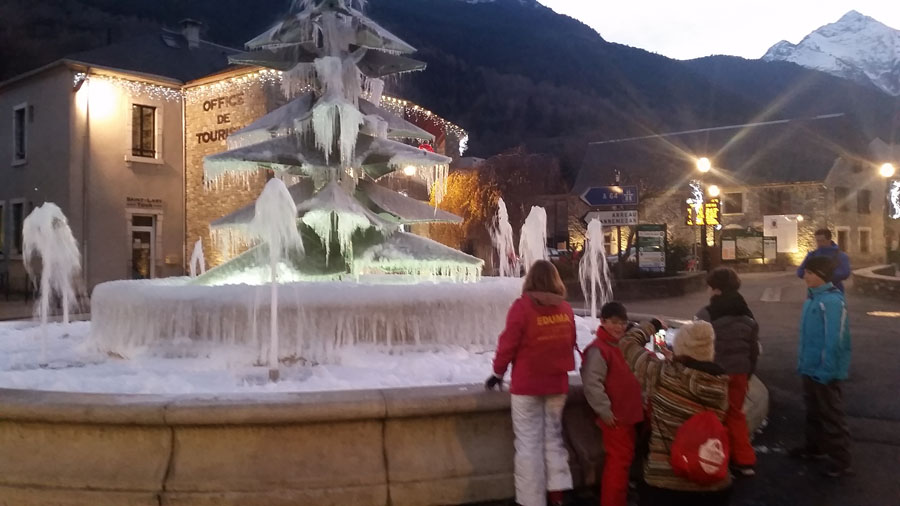 Visita a Sant LAry despues de terminar el día de esquí en Peyragudes