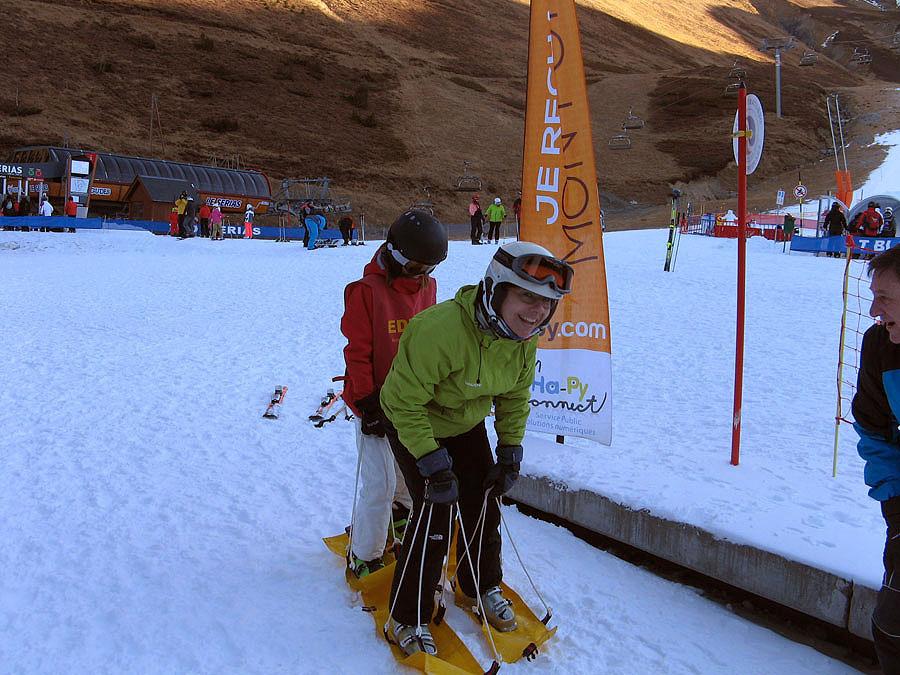 Actividades para toda la familia en el curso de ski de Peyragudes