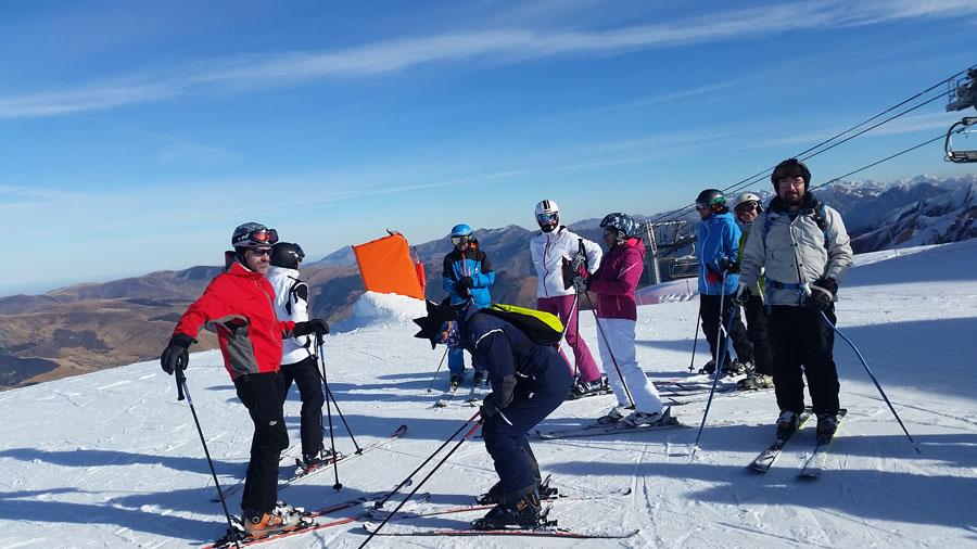 Cursos de esquí para Adultos