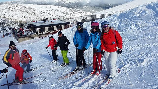 clases para todos los niveles en el cursillo de esqui de sabados