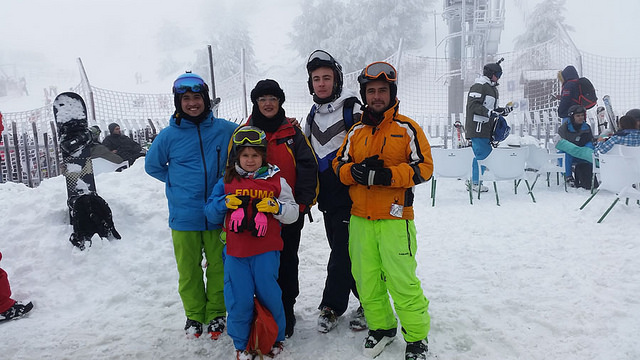 ski libre, curso de esqui sábados