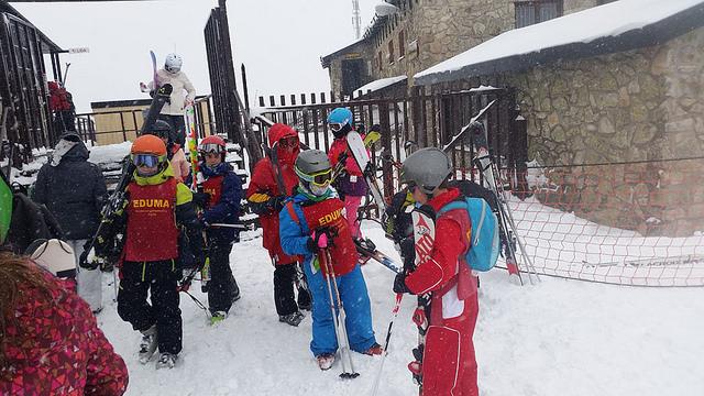Curso de esqui en Valdesqui o La Pinilla con salida desde MAdrid