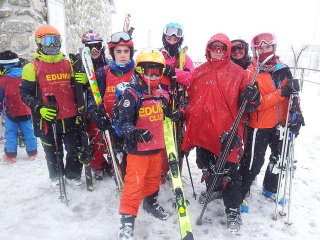 Aprende a esquiar en Valdesqui o La Pinilla