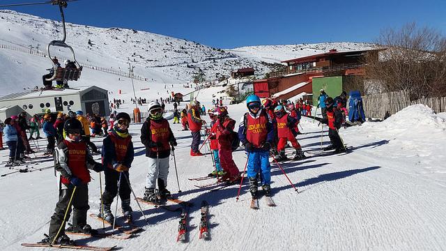 Semana Blanca Cursos de ski en Vacaciones escolares