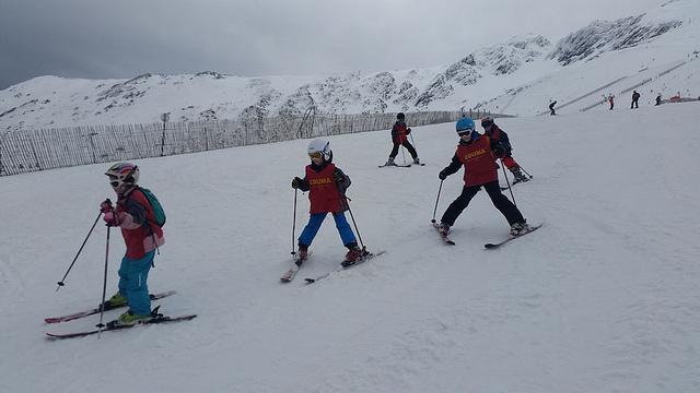 Curso de ski en las Vacaciones escolares 2017