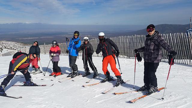 Curso de esquí en Vacaciones escolares