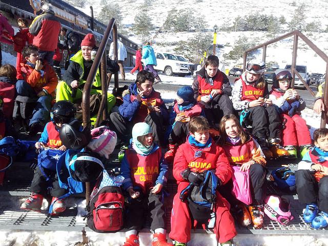 Cursillo de ski los sabados en valdesqui
