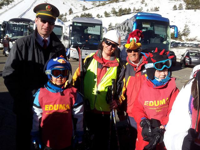 curso de ski sabados, carnavales