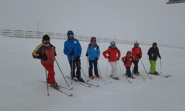 Clases Curso esquí en Valdesqui aprender a esquiar