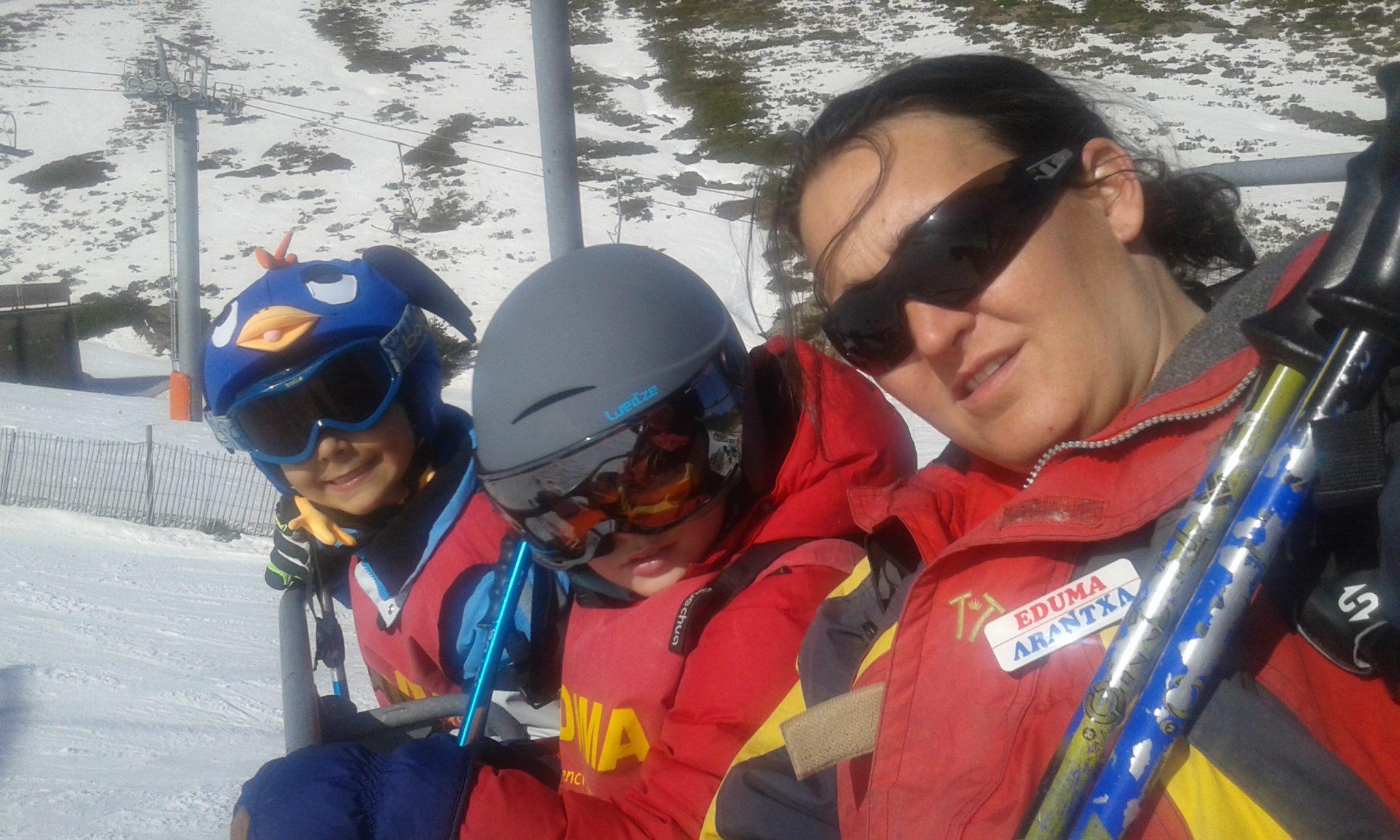 curso de ski sabados