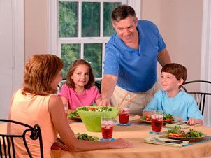 Mejorar idiomas con una familia de habla inglesa