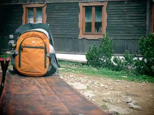 Como hacer la mochila para un campamento