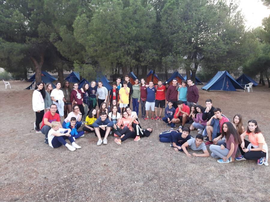 Acampada niños Eduma Salamanca