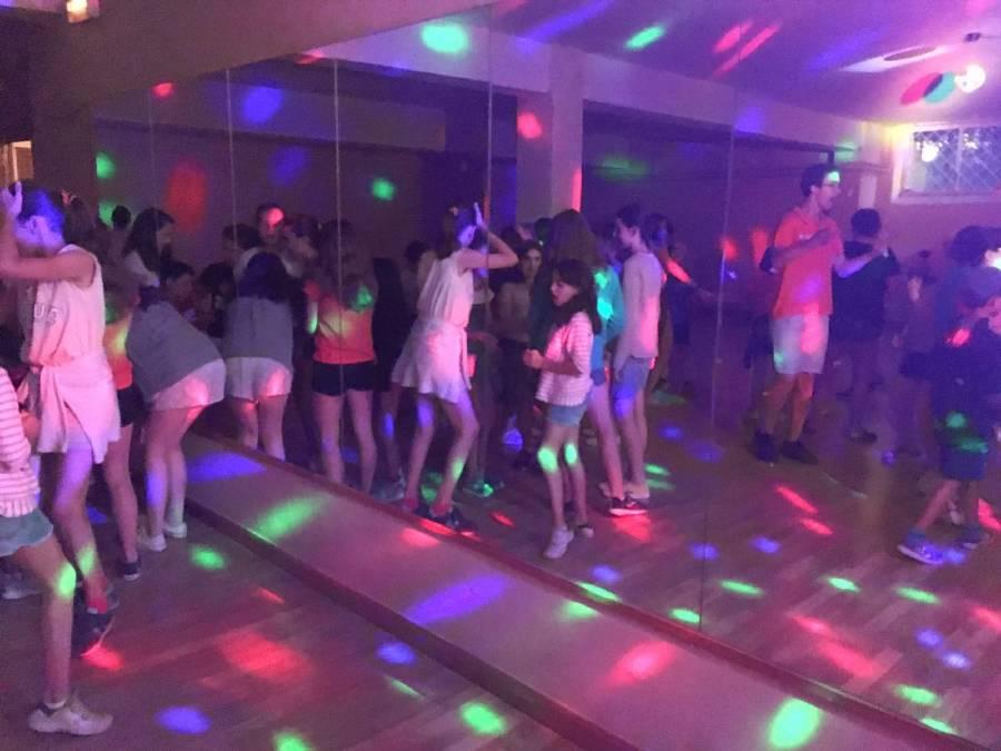 Discoteca en campamento Salamanca 2017