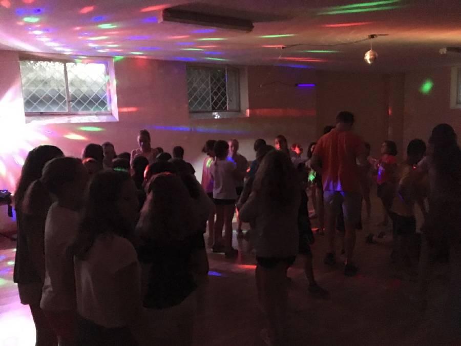 Discoteca campamento Salamanca 2017