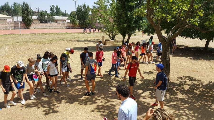 Deportes campamento Salamanca 2017