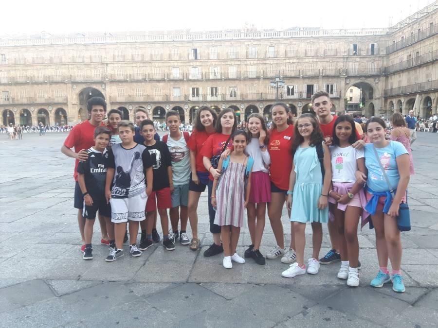 Visita Salamanca. Campamento con inglés o francés