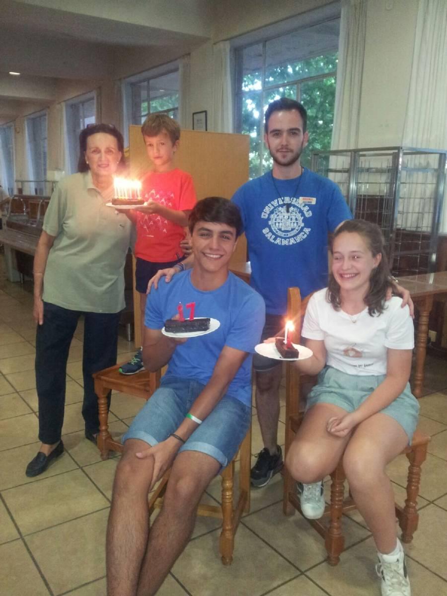Cumpleaños campamento