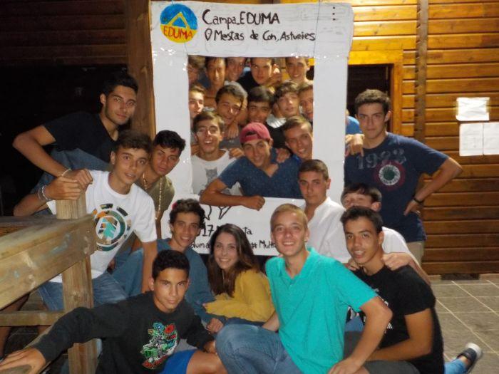 Photocall Campamento de verano Asturias