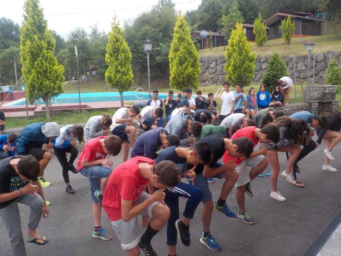Juegos campamento de verano Asturias multiaventura