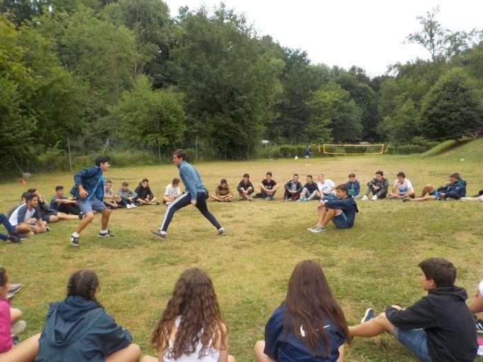 Juegos campamento de verano Asturias