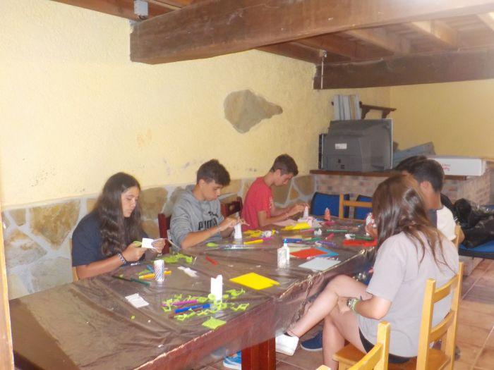 Talleres y manualidades Campamento multiaventura