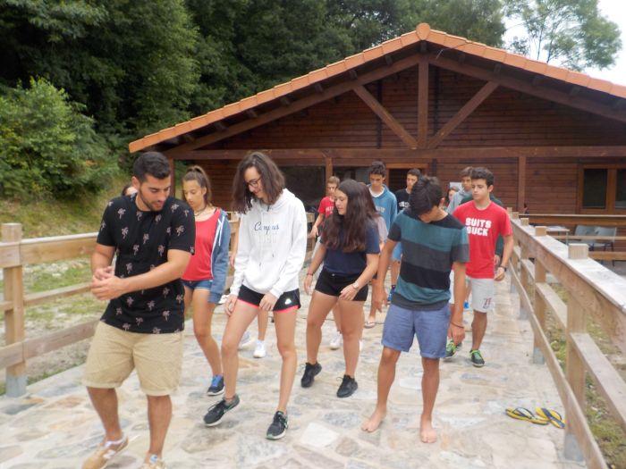 Juegos campamento multiaventura Asturias