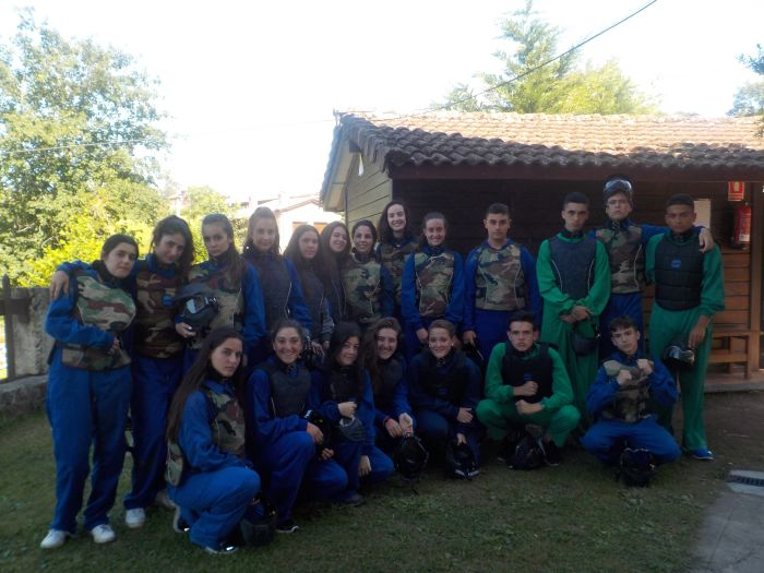 Paintball multiaventura Asturias