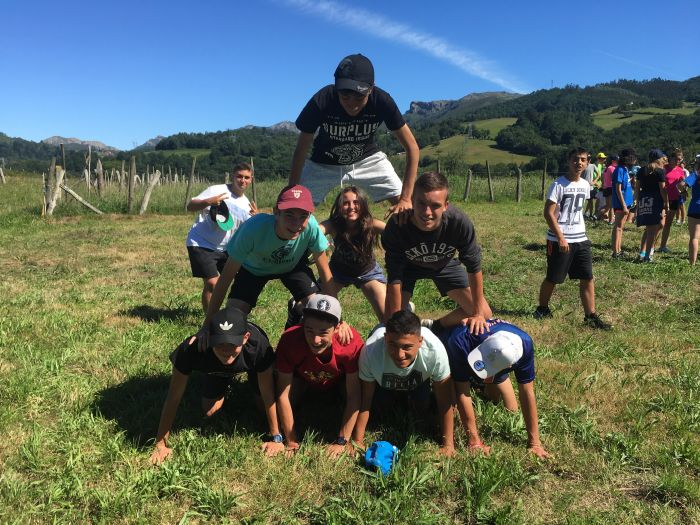 Juegos campamento en Asturias