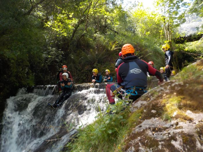 Descenso cañones multiaventura Asturias