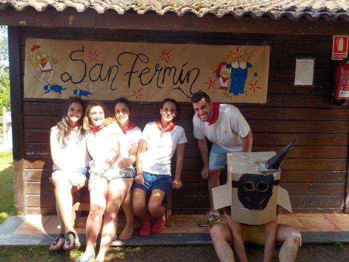 Grupo niños Campamento de Verano