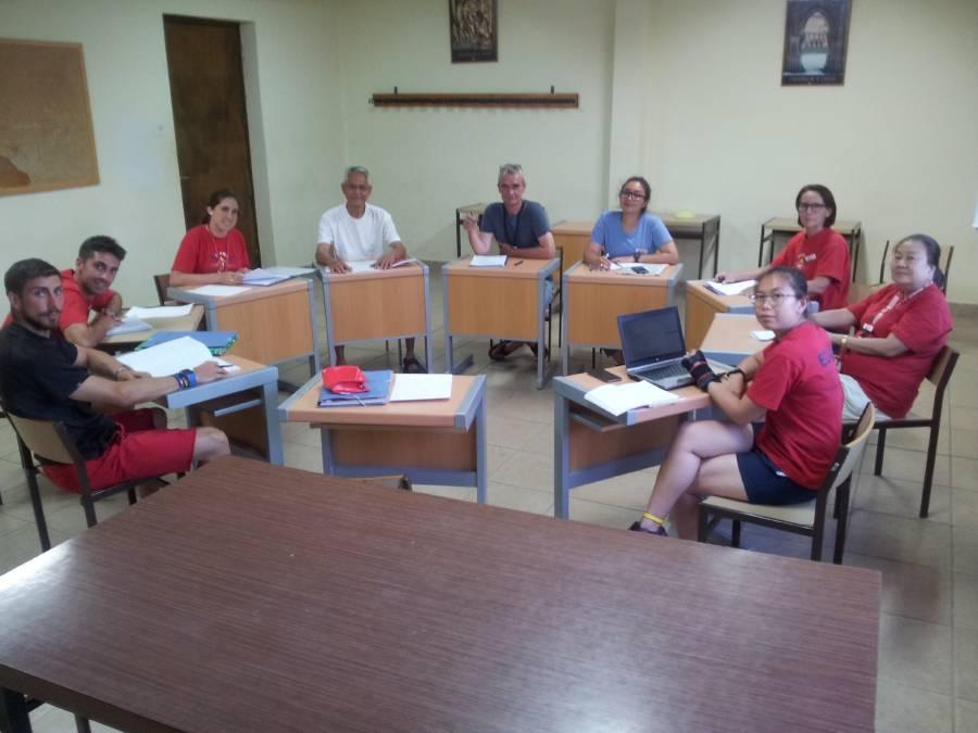 Clases ingles campamento Eduma Salamanca 2017
