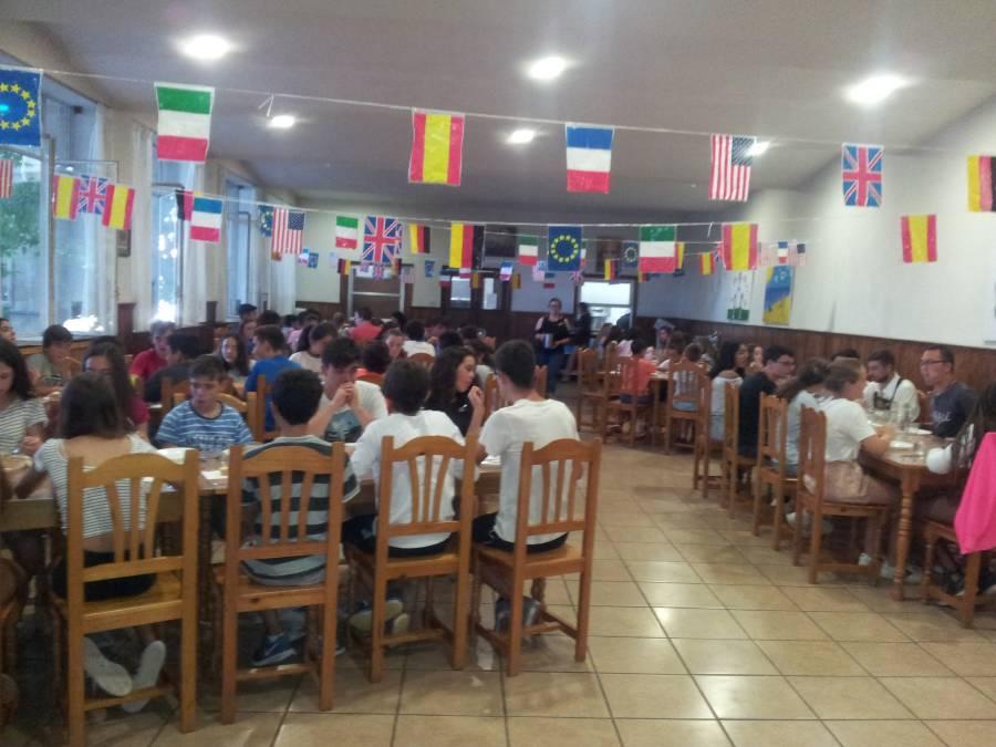Día tematico campamento Salamanca inglés