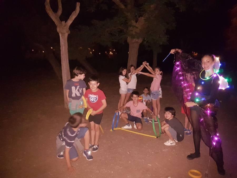 Juego nocturno campamento Salamanca inglés