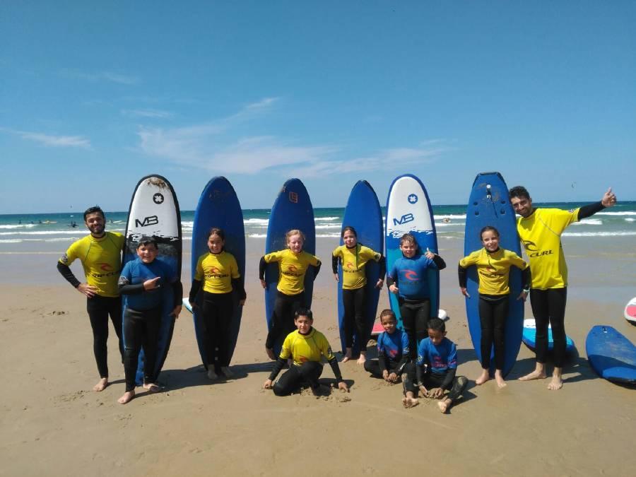 Surf campamento ingles o francés Salamanca 2017