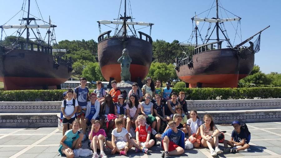 Excursión campamento inglés o francés