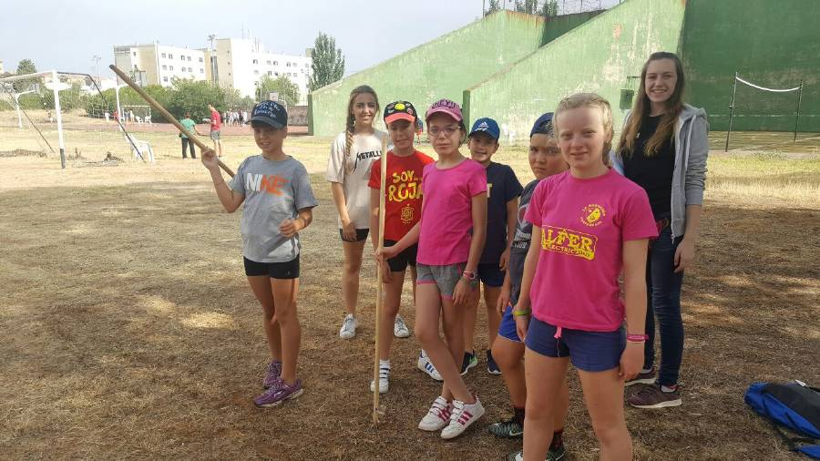 Deportes en inglés y francés Campamento de Salamanca