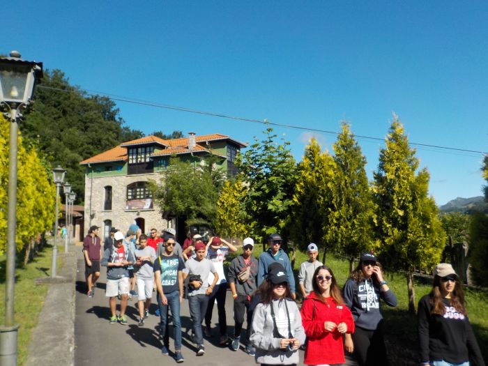 Excursion campamento Asturias