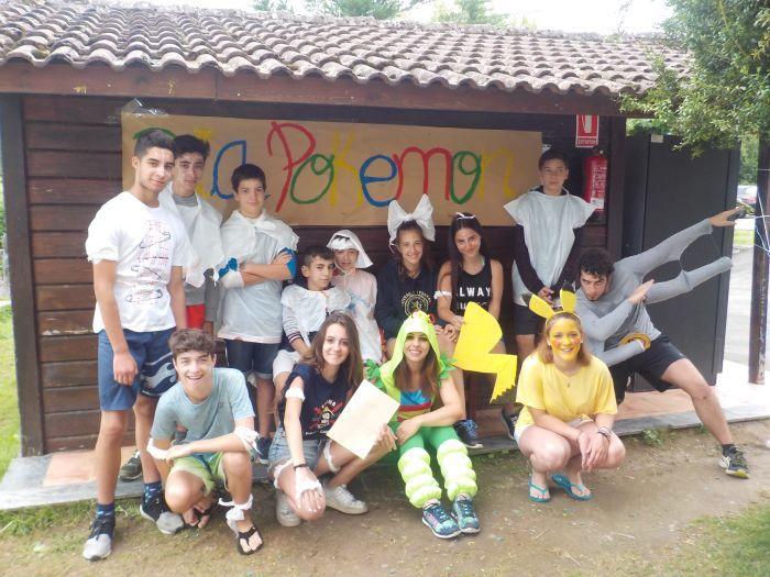 Colonia de verano en Asturias